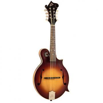 Custom The Loar LM-590 Contemporary F-Style Mandolin with Electronics, Tobacco Sunburst Satin