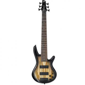 Custom Ibanez GSR206SM Natural Gray Burst 6-string Electric Bass