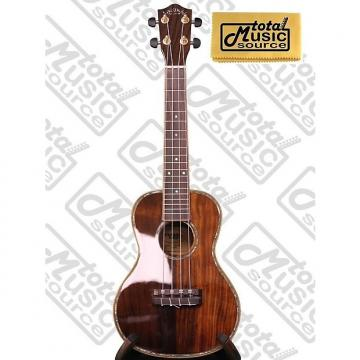 Custom Lanikai NKTU-C Solid Hawaiian Koa Concert TunaUke Ukulele w/ TMS Polishing Cloth, NKTU-C PC