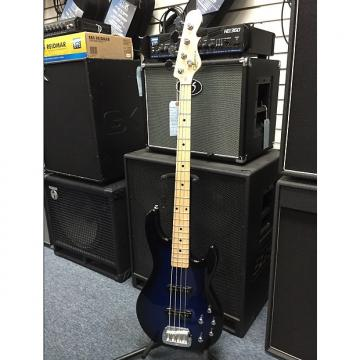 Custom G&L MJ-4 Tribute Series Electric Bass Blueburst finish  Maple board Brand New