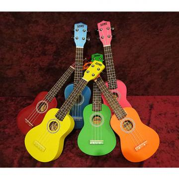 Custom Five-O-Ukuleles in Assorted Finishes - orange
