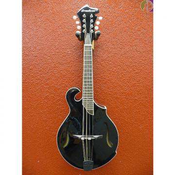 Custom Breedlove Crossover FF BK F-Style Mandolin, Black, Gig Bag Included