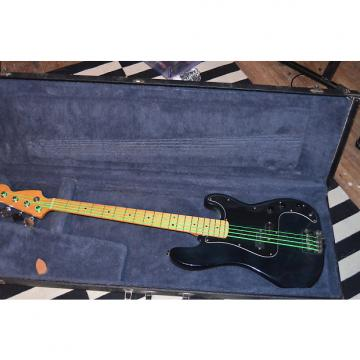 Custom Fender? precision 90's black P bass warmoth neck upgraded active pickup rock punk metal