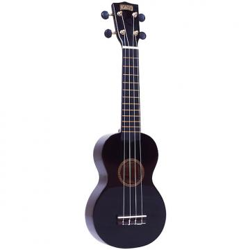 Custom Mahalo Rainbow Series Soprano Ukulele - Black