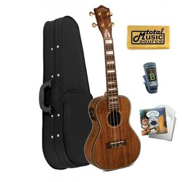 Custom Lanikai Hawaiin Concert Ukulele UkeSB USB,Case,Tuner,Strings,TMS Cloth, LK-CEU CASE
