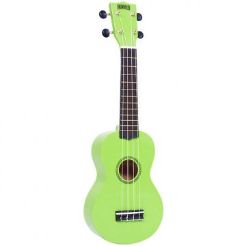 Custom Mahalo Rainbow Series Soprano Ukulele - Green
