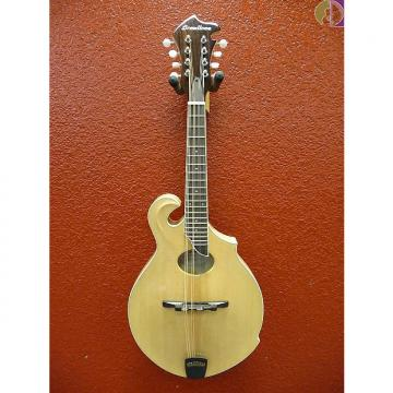 "Custom Breedlove Crossover FO NT ""F"" Style Mandolin, Natural, Gig Bag Included"