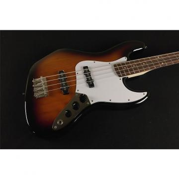 Custom Squier by Fender Affinity Jazz Bass - Brown Sunburst (976)