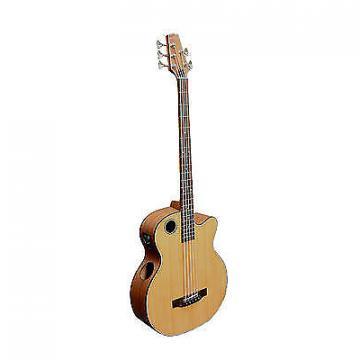 Custom Boulder Creek Solitaire Cedar Top  Acoustic /Elect 5-Str Bass EBR3-N5 Auth. Deal