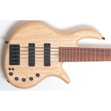 Custom Elrick Expat e-Volution 5-string bass. Swamp Ash, Natural.