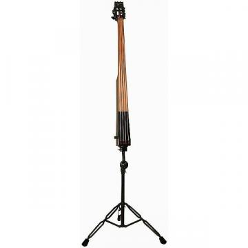 Custom Dean PACEB-CBK Pace Upright Stand-Up Electric Bass - Classic Black with Case