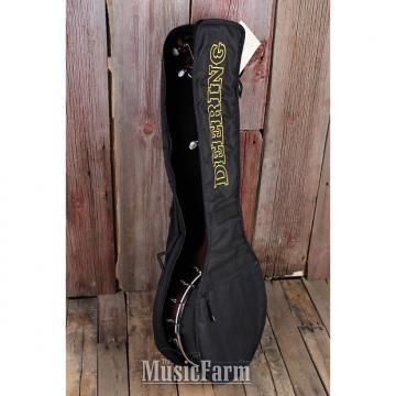 Custom Deering BGB OPENBACK Deluxe Padded Gig Bag for Open Back Banjo