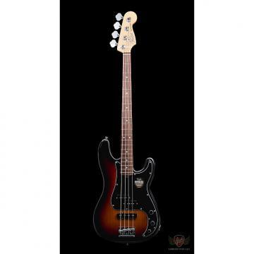 Custom Fender 2016 Limited Edition 'Magnificent 7' American Standard PJ Bass RW - 3-Tone Sunburst (064)
