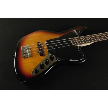 Custom Squier by Fender Vintage Modified Jaguar Bass SPCL - 3-Tone Sunburst (935)