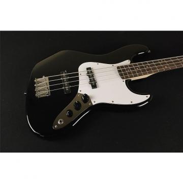 Custom Squier by Fender Affinity Jazz Bass - Black (324)