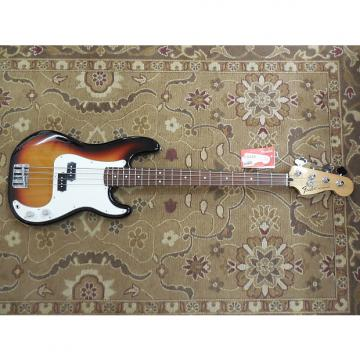 Custom 2015 Fender Standard Precision Bass in Brown Sunburst with Professional Setup!