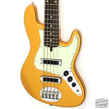 Custom Lakland Skyline 55-60 J-Sonic 5 Gold Bass
