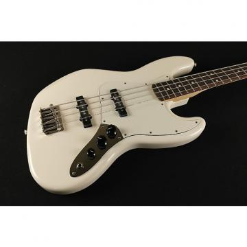 Custom Fender Standard Jazz Bass Rosewood Fingerboard Arctic White 3-Ply Parchment Pickguard 0146200580 (736)