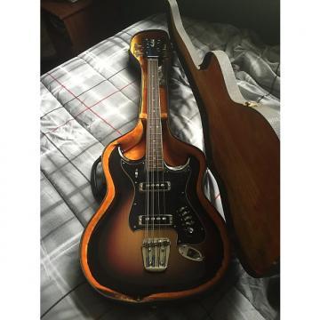 Custom Hagstrom F 800 8-String Bass 1967 Sunburst