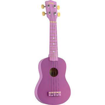 Custom Stagg Graphic Purple Soprano Ukulele US-VIOLET