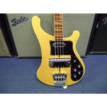 Custom Rickenbacker 4001 MG 1974 Maple Glo Vintage electric Bass