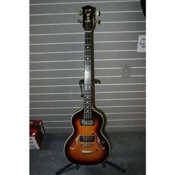 Custom Hoyer Londin Violin Bass 60s Sunburst