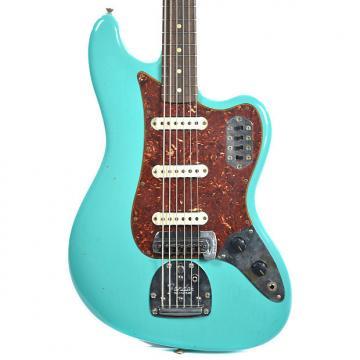 Custom Fender Custom Shop Bass VI Journeyman Relic Sea Foam Green (Serial #CZ526153)v