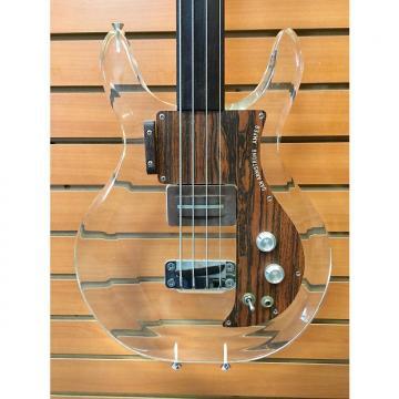 Custom Ampeg Fretless Dan Armstrong Lucite Bass