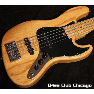 Custom Mike Lull V5 Natural 5 String Jazz Bass