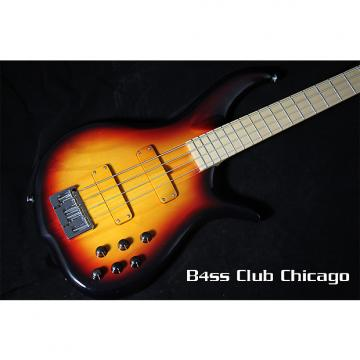 Custom F Bass  BN4 Sunburst Gloss