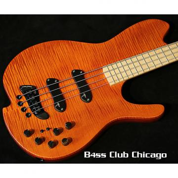 Custom Jerzy Drozd  Oracle Silver IV  Amber Flame Maple JD