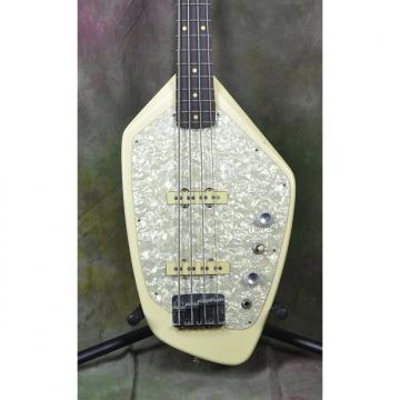 Custom 2000's Phantom U.S.A. Vox Copy Classic Vintage White Electric Bass Guitar