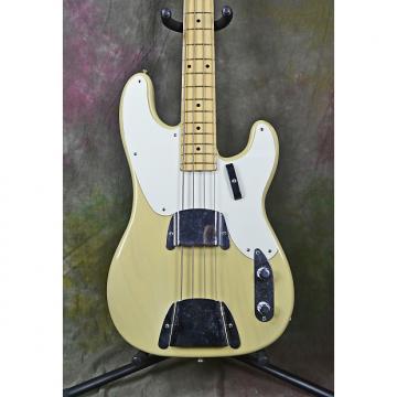 Custom 2010 Fender Custom Shop '55 Precision Bass NOS Blonde Electric Bass Guitar