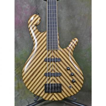 Custom 2011 Drake Darla Natural 5-String Fretless Electric Bass Guitar