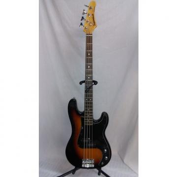 Custom Samick Bass Guitar Tobacco Burst