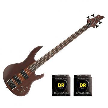 Custom ESP LTD D-4 - Natural Satin w/2 Sets DR Strings BKB-45