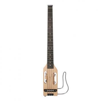 Custom Traveler Guitar Ultra-Light Bass - Natural with Gig Bag