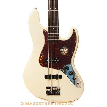 Custom Fender Basses - American Standard Jazz Bass - Olympic White