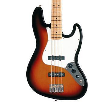 Custom Fender Standard Jazz Bass Maple Brown Sunburst
