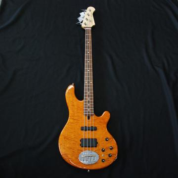 Custom Lakland USA 44-94 4 String Bass Amber