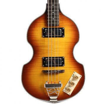 Custom Epiphone Viola Bass Vintage Sunburst