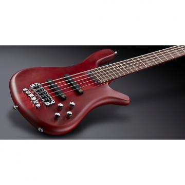 Custom Warwick GPS Streamer Stage I 5-String Bass, Burgundy Red, Active MEC J/J Pickups, Free Shipping