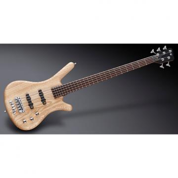 Custom Warwick WGPS Corvette 5-String Natural Satin Ash -Passive/Passive w/ Gig Bag, Free Shipping
