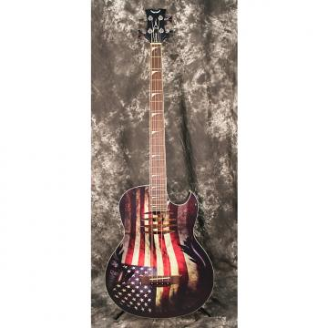 Custom Dean Dave Mustaine Mako B Glory Acoustic Electric Bass
