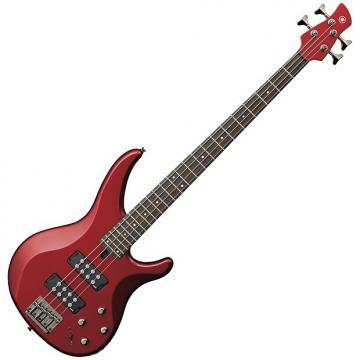 Custom Yamaha TRBX304CAR 4-String Electric Bass Candy Apple Red
