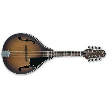 Custom Ibanez M510 Mandolin (Open Pore Vintage Sunburst)