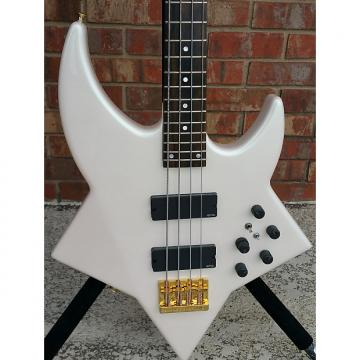 Custom Curbow Bootsy 1 of a kind White pearl