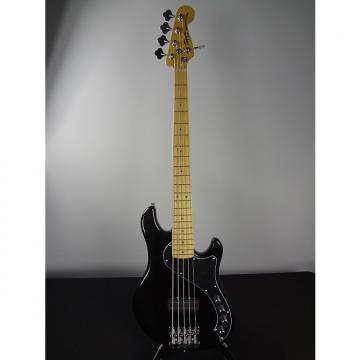 Custom Squier Deluxe Dimension V Bass 2015 Black