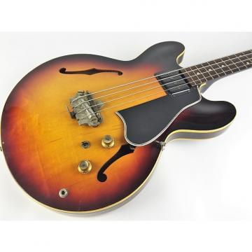 Custom Gibson EB-2 1960 Sunburst