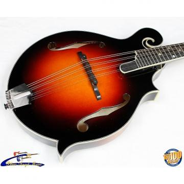 Custom Eastman MD815-SB F-Style Mandolin w/HFC, Solid Carved Spruce/Maple, FLAMED!! #36581